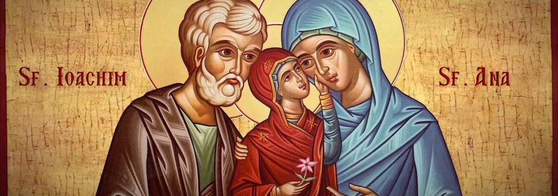 Acatistul Sfintilor Parinţi Ioachim si Ana – 9 Septembrie