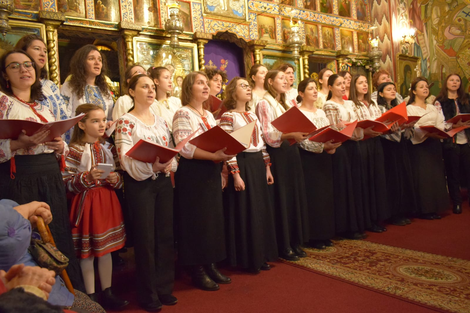 Corala EUTERPE a concertat la Parohia Sf. Ioachimși Ana – Oborul Vechi