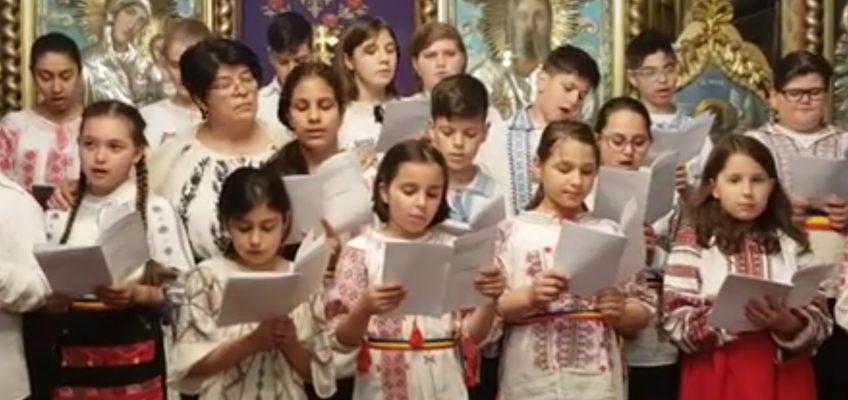 Corul copii Sf Sofia la Parohia Sf Ioachim si Ana – Oborul Vechi