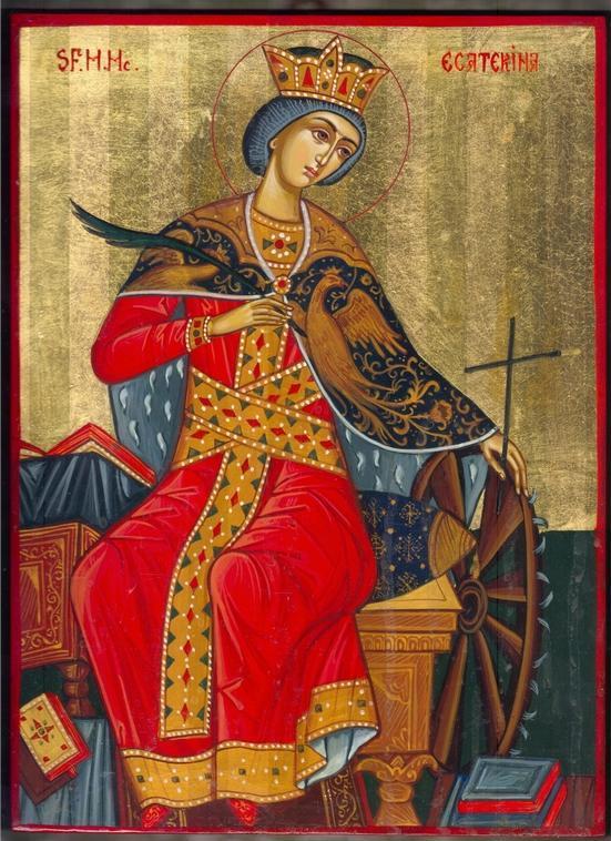 Sfânta Mare Muceniţă Ecaterina