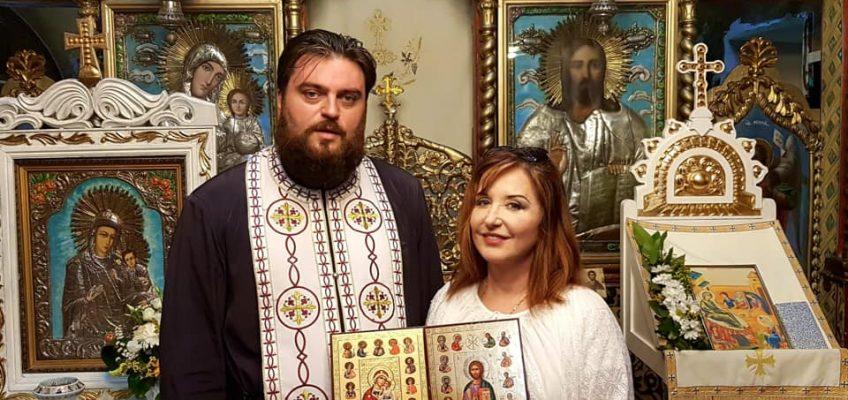 Soprană de renume mondial s-a rugat într-o biserică din Bucureşti