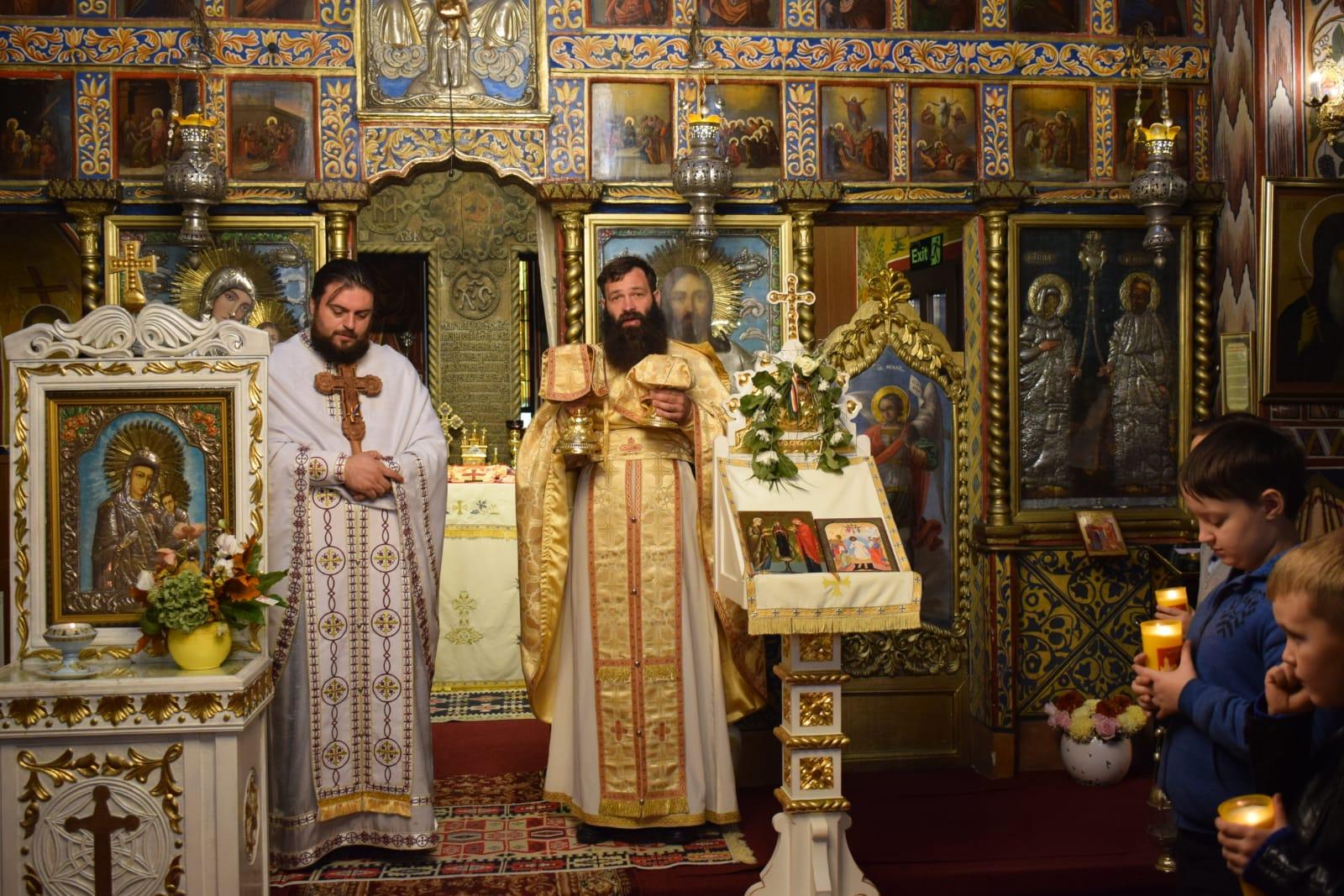 Împreună slujire cu părintele Tănase Rafael
